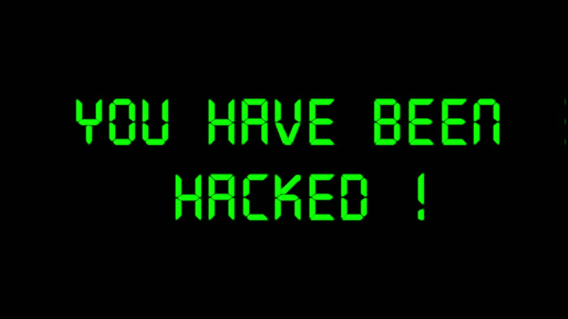 computer is hacked
